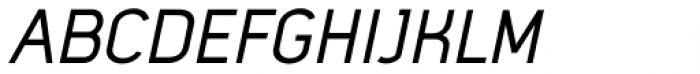 Mister Giacco Pro Regular Oblique Font UPPERCASE