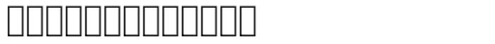 Mister K Dingbats UI Font LOWERCASE
