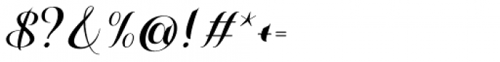 Misti's Destruction Regular Font OTHER CHARS