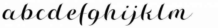 Misti's Destruction Regular Font LOWERCASE