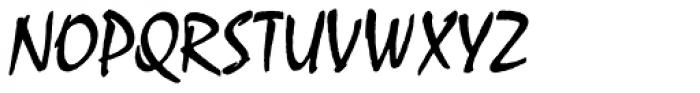 Mistral Com Regular Font UPPERCASE