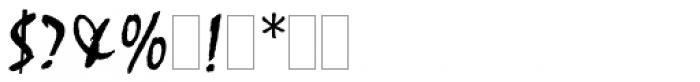 Mistral Font OTHER CHARS