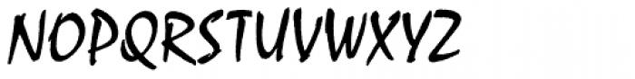 Mistral Font UPPERCASE
