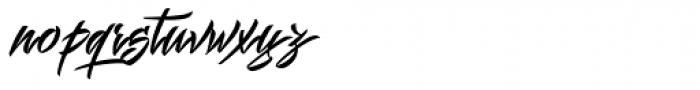 Mistuki 1 Font LOWERCASE