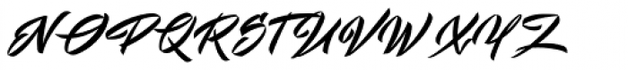 Mistuki 3 Font UPPERCASE