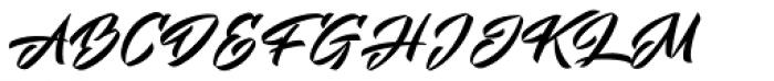 Mistuki 4 Font UPPERCASE