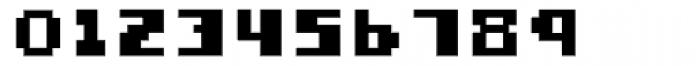 Miterra Blocks Font OTHER CHARS