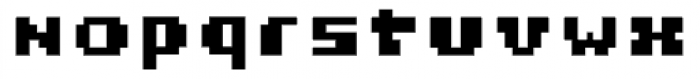 Miterra Blocks Font LOWERCASE