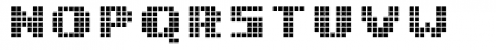 Miterra Boxes Font UPPERCASE