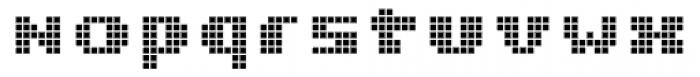 Miterra Boxes Font LOWERCASE