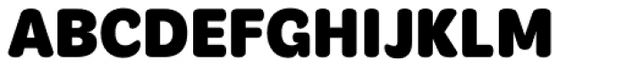 Mithella Extra Bold Font UPPERCASE