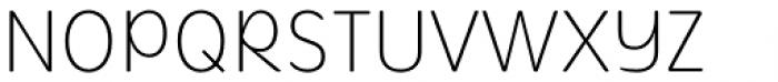 Mithella Thin Font UPPERCASE