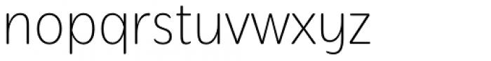 Mithella Thin Font LOWERCASE