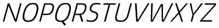 Mitram Medium Italic Font UPPERCASE