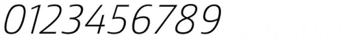 Mitram Regular Italic Font OTHER CHARS