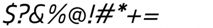 Mitram Semi Bold Italic Font OTHER CHARS