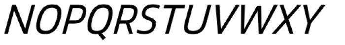 Mitram Semi Bold Italic Font UPPERCASE