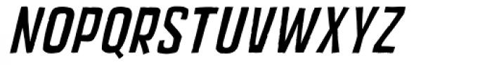 Mixed Breed Oblique Font UPPERCASE