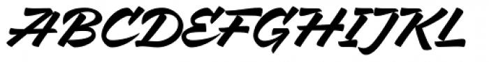 Mixed Tape Regular Font UPPERCASE