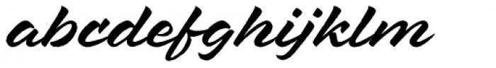 Mixed Tape Rough Regular Font LOWERCASE