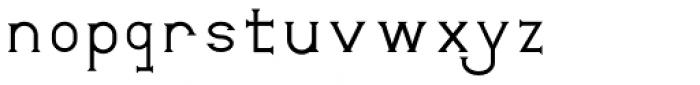 Mixink Std Regular Font LOWERCASE