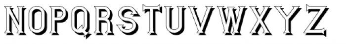 Mixink Std Shdw Bold Font UPPERCASE