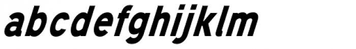 Mixolydian Bold Italic Font LOWERCASE