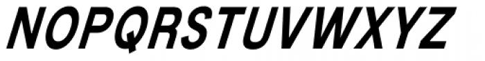 Mixolydian Italic Font UPPERCASE