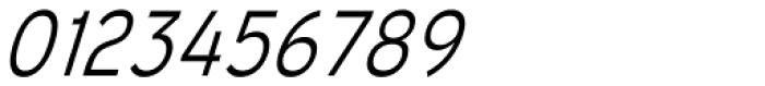 Mixolydian Light Italic Font OTHER CHARS