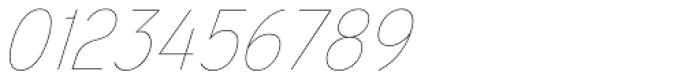 Mixolydian UltraLight Italic Font OTHER CHARS