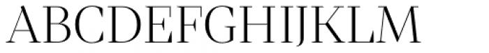 Mixta Didone Alt Light Font UPPERCASE