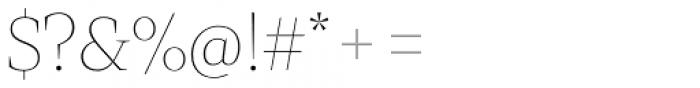 Mixta Didone Alt Thin Font OTHER CHARS