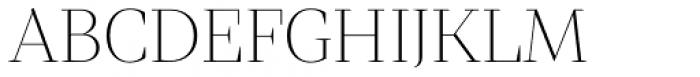 Mixta Didone Alt Ultra Light Font UPPERCASE