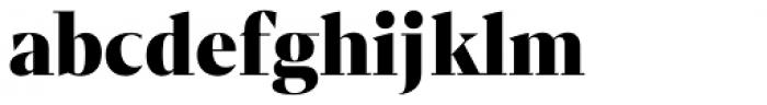 Mixta Sharp Alt Black Font LOWERCASE