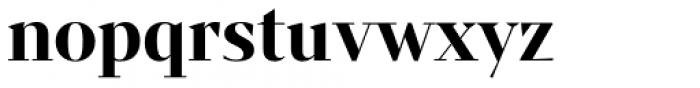 Mixta Sharp Alt Bold Font LOWERCASE