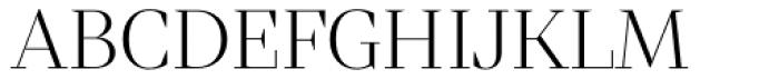 Mixta Sharp Alt Light Font UPPERCASE