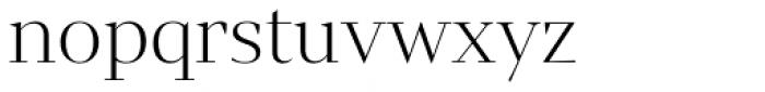 Mixta Sharp Alt Light Font LOWERCASE