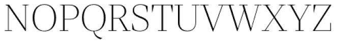 Mixta Sharp Alt Ultra Light Font UPPERCASE