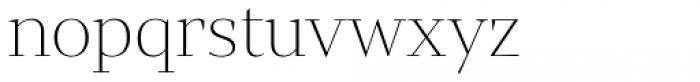 Mixta Sharp Alt Ultra Light Font LOWERCASE