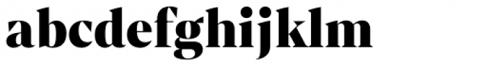 Mixta Sharp Black Font LOWERCASE