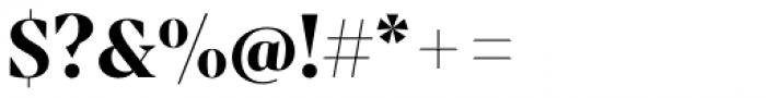 Mixta Sharp Bold Font OTHER CHARS