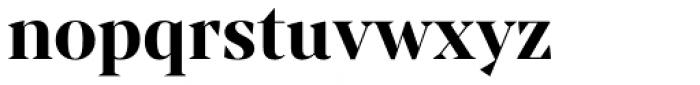 Mixta Sharp Bold Font LOWERCASE
