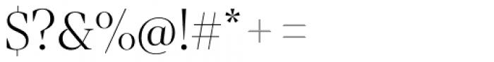 Mixta Sharp Light Font OTHER CHARS