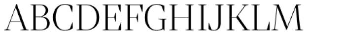 Mixta Sharp Light Font UPPERCASE