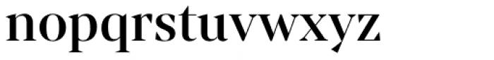 Mixta Sharp Medium Font LOWERCASE