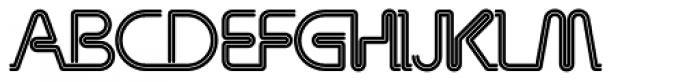 Miyagi Font UPPERCASE