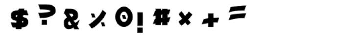 Miyama Font OTHER CHARS