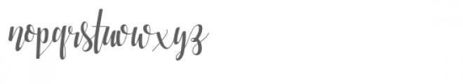 Mindless-Stunnner Font LOWERCASE
