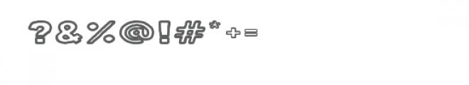 milk stout outline font Font OTHER CHARS