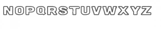 milk stout outline font Font UPPERCASE
